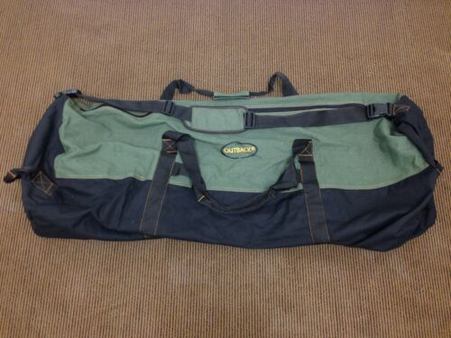 "Outback Mens Heavy-Duty COLOSSAL Canvas Duffle Bag Travel Luggage 72/""x 22/"" UG"