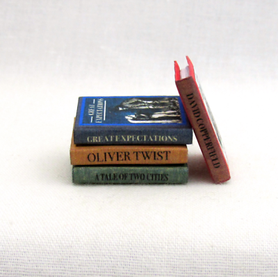 Dollshouse Miniature Book Kit Oliver Twist