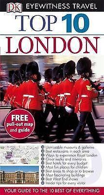 """AS NEW"" DK Eyewitness Top 10 Travel Guide: London, Williams, Roger, Book"