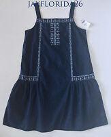 Gap Kids Seaside Chambray Denim Dress Jumper Xs (4-5) S (6-7) M (8) L (10)