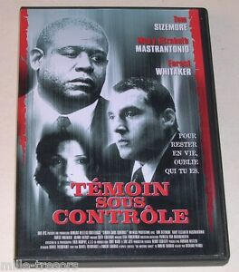 DVD-TEMOIN-sous-CONTROLE-avec-Tom-Sizemore-Forest-Whitaker