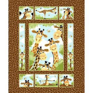 Zoe-The-Giraffe-Panel-1-Yd-By-Susybee-Gr8-Antics-of-Giraffe