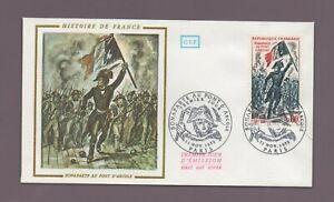 FDC 1972 - Historia de Francia - Bonaparte En Puente Arcole (2083)