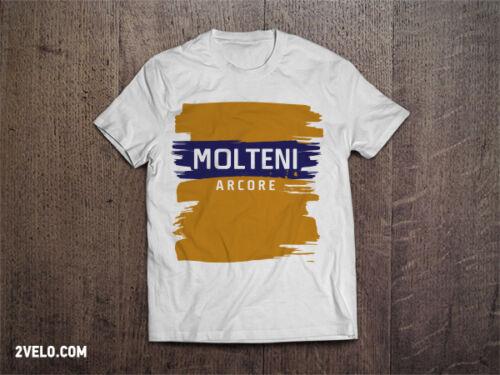 cotton version T shirt All Sizes Eddy Merckx Molteni Arcore Cycling Jersey