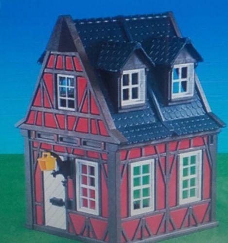 PLAYMOBIL 7785 rojo Medieval reticolare House
