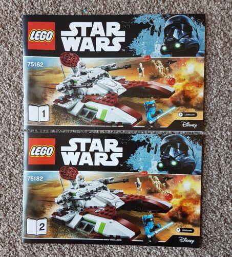 Lego Star Wars 75182 Republic Fighter Tank Instruction Manual NEW