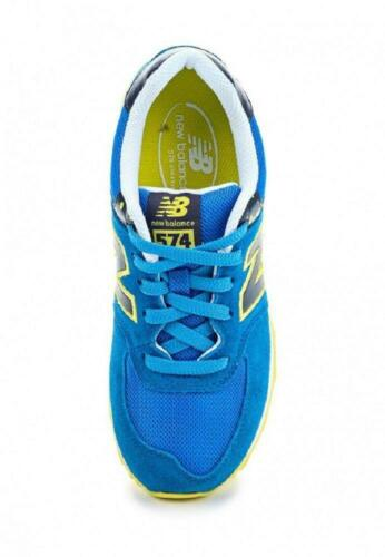 Juniors NEW BALANCE 574 Blue Trainers KL574YSY