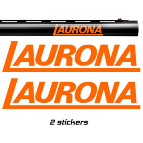 10 colours 3 sizes 2x  LAURONA Vinyl Decal Sticker
