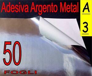 stampa laser 10 fogli A4 Poliestere ORO adesivo PVC