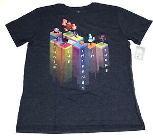 Disney-Store-Mens-Wreck-it-Ralph-2-Ralph-Breaks-the-Internet-T-shirt-Size-M-L-XL