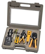 10-Piece PC Pro Network LAN Tester Punch Down Crimp Tool Kit