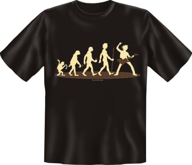 Evolution Gitarre T-Shirt Musik S-XXXL Musiker Gitarrist Fun-Shirt