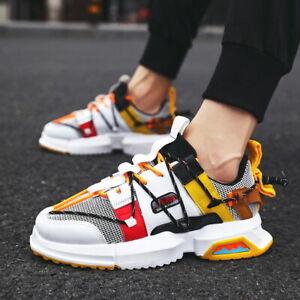Herren Jogging Schuhe Freizeit Sneaker Sportschuhe Laufschuhe Turnschuhe Fashion