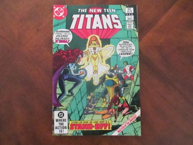 The New Teen Titans #25 (Nov 1982, DC)
