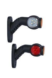2x-LED-Begrenzungsleuchten-Umrissleuchte-Positionsleuchte-Markierung-LKW-24V