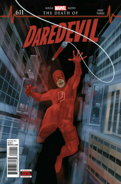 Death of Daredevil #612 Marvel Comic 1st Print 2018 unread NM
