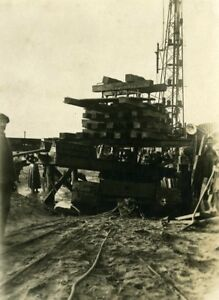 France-Port-of-Dunkirk-Dunkerque-Extension-Work-West-amp-South-Dike-Old-Photo-1930