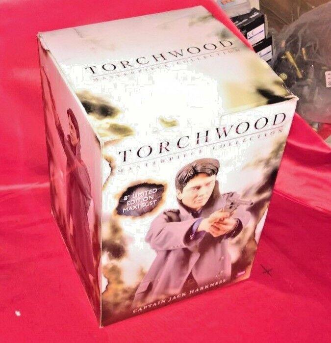 "Torchwood capitán Jack Jack Jack Harkness 8"" Edición Limitada Maxi Busto BBC Titan  descuento online"