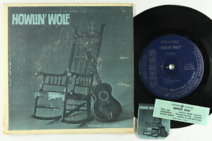 Jukebox Hard Cover EP - Howlin' Wolf - S/T - Chess - 7-LPS-1469
