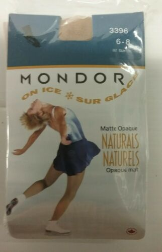 Mondor Figure Skating Tights 3396 Over The Boot Suntan 6-8
