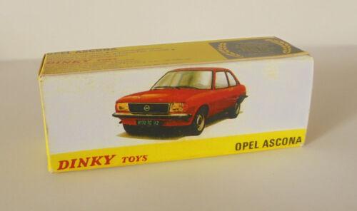 Repro Box Dinky Nr.011543 Opel Ascona
