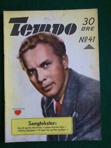 "Vintage Danish Magazine""TEMPO"" No 41,1943.Arnold Sjøstrand."