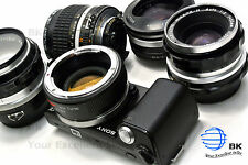 Mitakon Lens Turbo 2 Focal Reducer Sony NEX Speed Booster Minolta MD MC SR-NEX