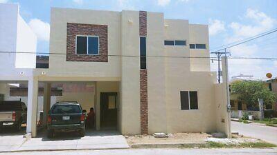 Casa Nueva en esquina, col. Manuel R Diaz Cd. Madero.
