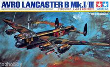 Tamiya 61112 1/48 Scale Aircraft Model Kit WWII RAF Avro Lancaster B MK.I/MK.III