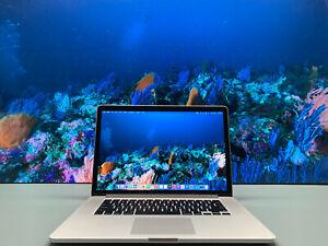 FTOUCH MacBook Pro 15 Retina | 3.4GHz Quad Core i7 | 16GB RAM 2TB SSD OS2020