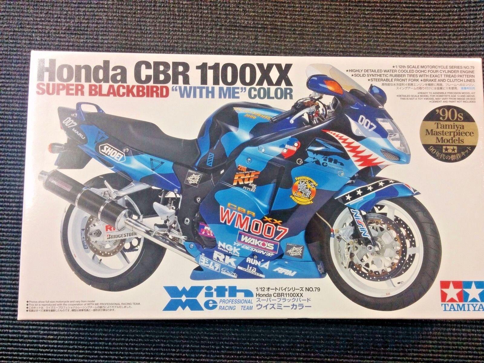 Tamiya 1 12 Honda CBR 1100XX (Super negrobird  conmigo  Color) Modelo Kit - 14079
