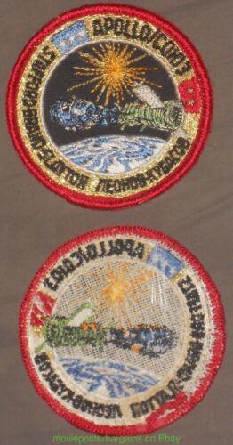 COHO3 NASA Space Program Sew-On Vintage Embroider PATCH  STAFFORD BRAND APOLLO