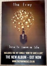 The Fray - How To Save A Life - Rare Original Promo Poster - 20x27 Inches