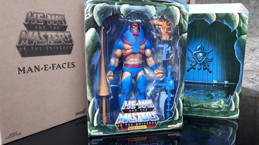 Man-e-faces fast + cd motu comic - action - figur hordak neue box vintage - 80
