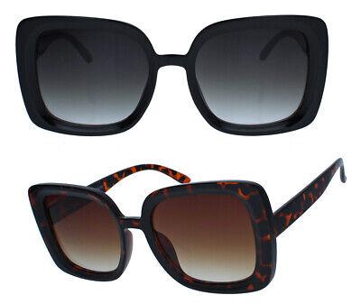 Große Retro Sonnenbrille Damen 60er 70er Jahre Square oversized quadratisch JK21
