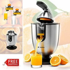 Automatic citrus juice extractor for lemon orange squeezer fruit juicer machine 691038708817 ebay - Machine a presser orange ...