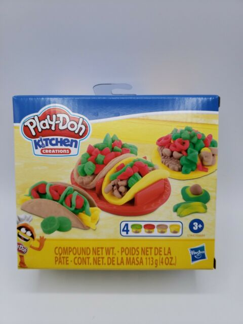 Play Doh Kitchen Creations Taco Time Food Set For Kids 3 Years And Up Sale Online Ebay