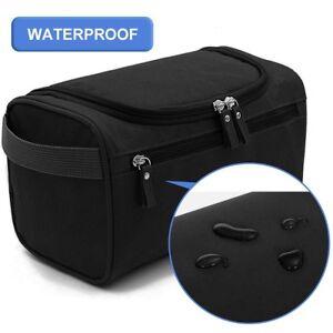 c3ad085729 Image is loading Travel-Toiletry-Bag-Wash-Shaving-Bathroom-Organizer-Dopp-