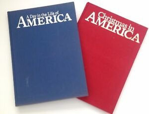 Christmas In America Book.Details About Lot 2 A Day In The Life Of America Christmas In America Book Hardcover 1988