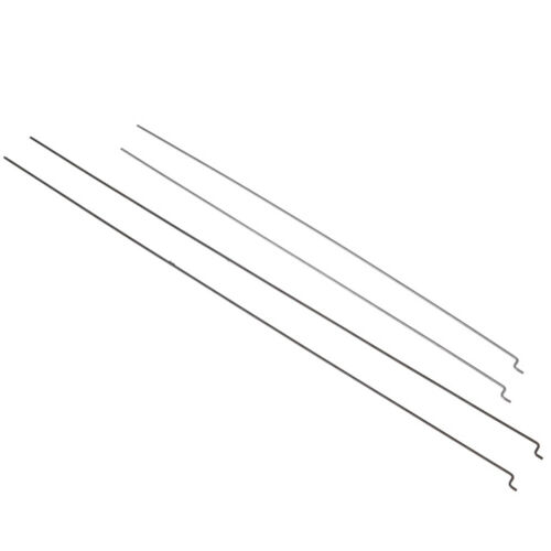 10Pcs Z type D1.2mm steel wire push pull rod pushrod for rc aircraft airplane SL