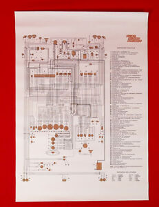 Fiat Dino 2400 Spider    Wiring       Diagram    59x84    cm    New   eBay