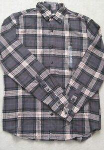 NWOT-GAP-men-039-s-long-sleeve-plaid-flannel-shirt-Size-Medium