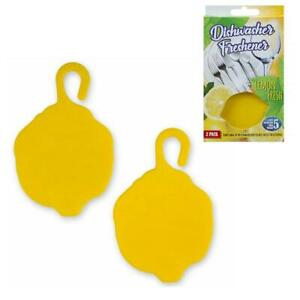 2x-Dishwasher-Freshener-Lemon-Scented-Fragrance-Odour-Eliminator-Deodorise-Clean