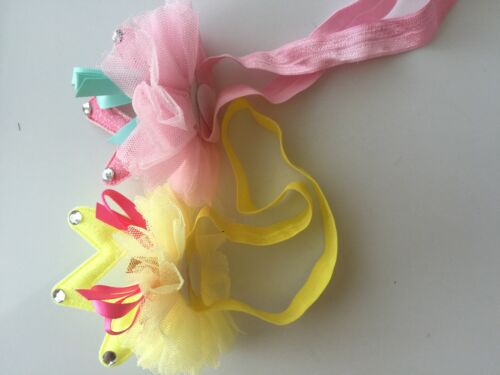 Flower Girl Kid Child Baby Shower birthday Party Crown Tiara Hair Head Band Prop