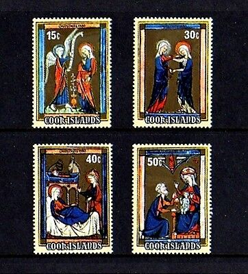 COOK ISLANDS - 1980 - CHRISTMAS - ANNUNCIATION - NATIVITY ++ MINT - MNH SET!