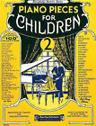 Piano Pieces for Children - Volume 2 by Amy Appleby (Paperback / softback, 2000)