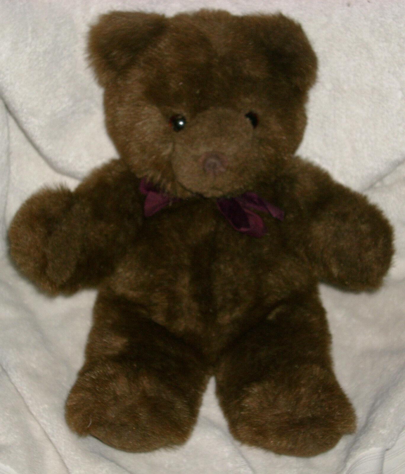 16  VINTAGE 1983 GUND COLLECTORS CLASSIC BROWN TEDDY BEAR STUFFED ANIMAL PLUSH