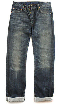LEVI'S VINTAGE CLOTHING LVC '67 505 67505-0055 BIG E BUFFALO SELVEDGE JEANS $285