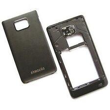 100% ORIGINALE SAMSUNG GALAXY S II i9100 Alloggiamento Posteriore + fotocamera vetro + BATTERIA COVER S2