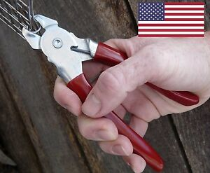 Professional Hog Ring Pliers Tool For Fencing Packaging Upholstery